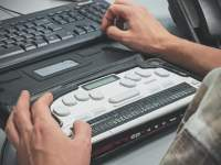 Braille Keyboard, showing accessibility